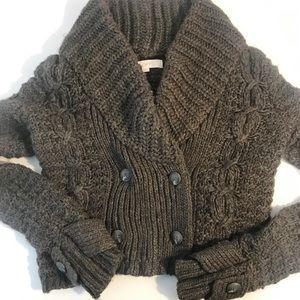 Ann Taylor LOFT | Chunky Cable Knit Cardigan